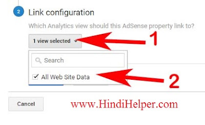 Google Analytics se Adsense से कैसे Connect करे  ? Link configuration