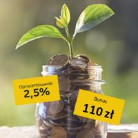 Comperia Bonus 7 Lokata Plan Depozytowy 130 dni w Toyota Bank z premią do 110 zł