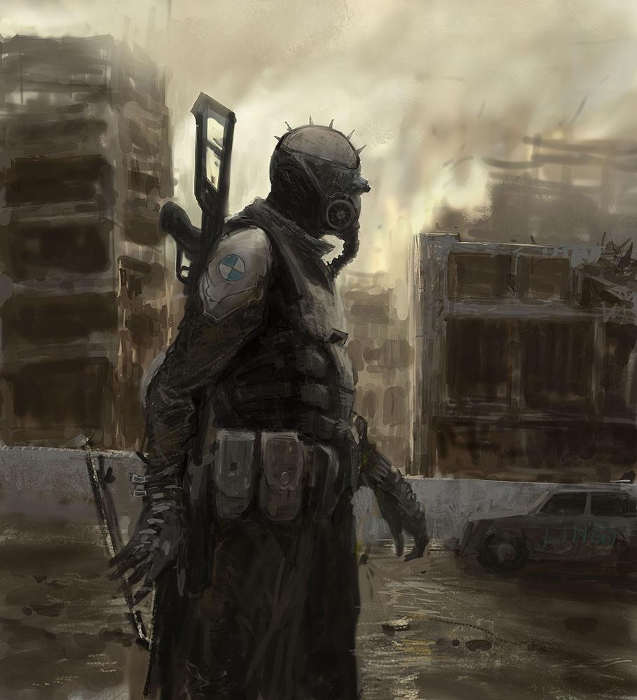 Apocalyptic Soldier Pics: Apocalyptic Beauty