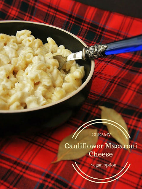 Creamy Cauliflower Macaroni Cheese - Vegetarian and Vegan Recipes