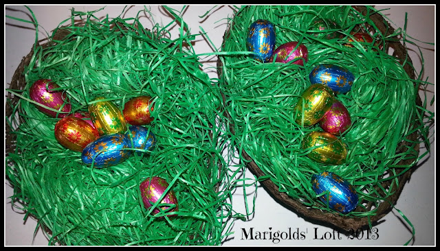 marigolds' loft easter nests