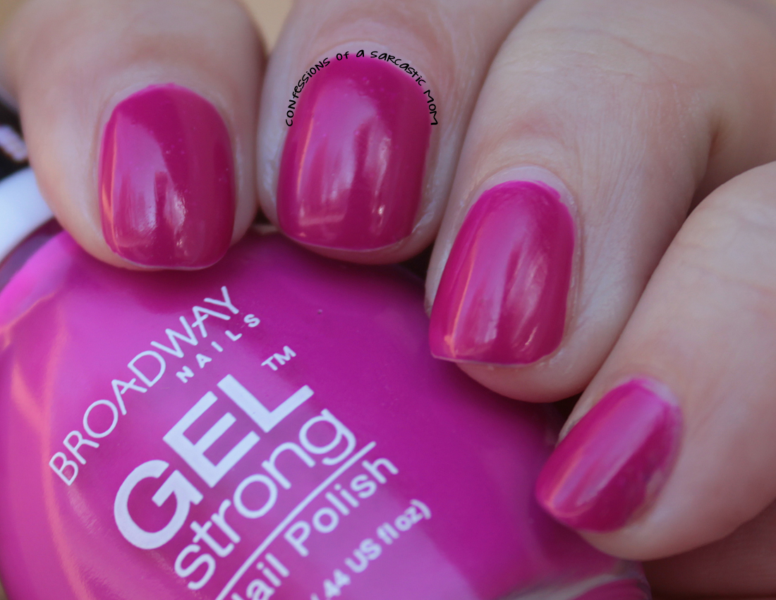 Broadway Nails Gel Strong in Jimmi\'s Purple | Confessions of a ...