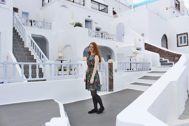rena´s rooms, lucie srbová, česká blogerka, blogerka, santorini