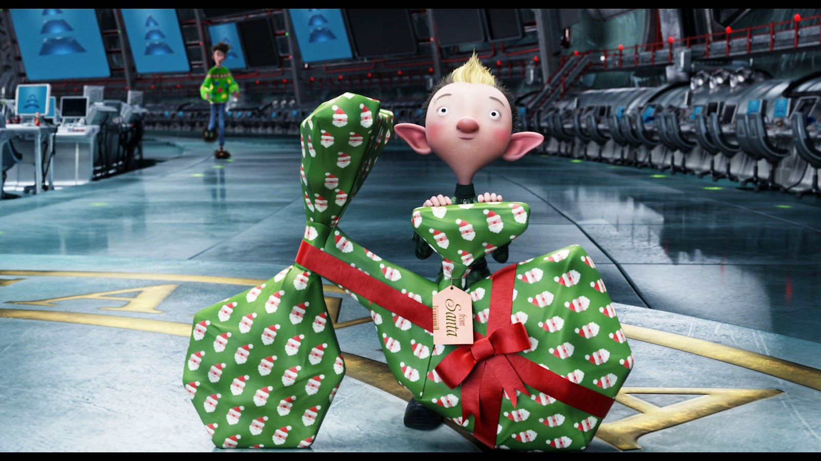 Inside The Wendy House Arthur Christmas Review