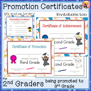 2nd Grade Cetificates
