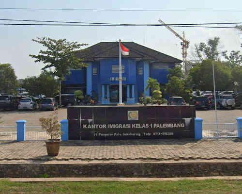 Alamat Telepon Kantor Imigrasi Kelas I Palembang