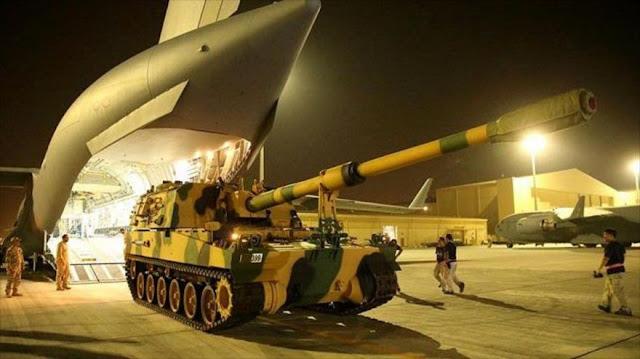 Turquía sigue militarizando Catar pese a tensión con Arabia Saudí