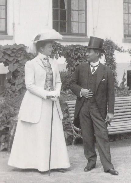 Король Сиама Чулалонгкорн и Мария Орлеанская