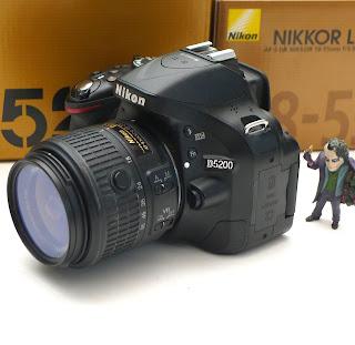 Kamera Nikon D5200 Fullset Di Malang