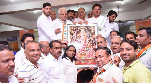 ashok-tanwar-president-haryana-congress-party-welcome-faridabad