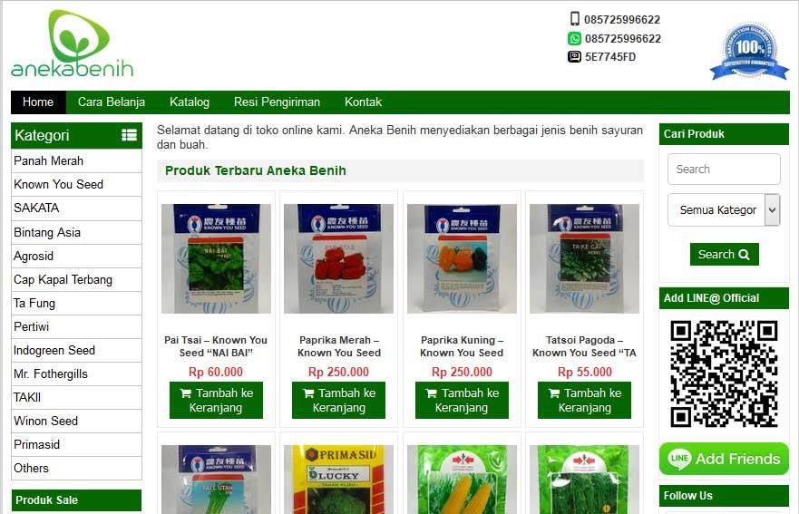 Anekabenih.com Solusi Mudah Bagi Anda yang Ingin Membeli Benih Sayuran