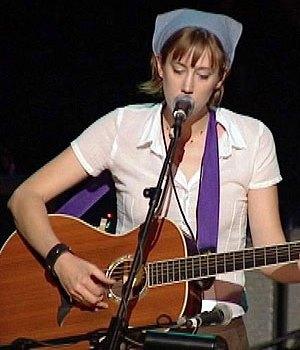 Foto de Beth Orton en su presentación