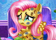 MLP Fluttershy At The Hospital juego