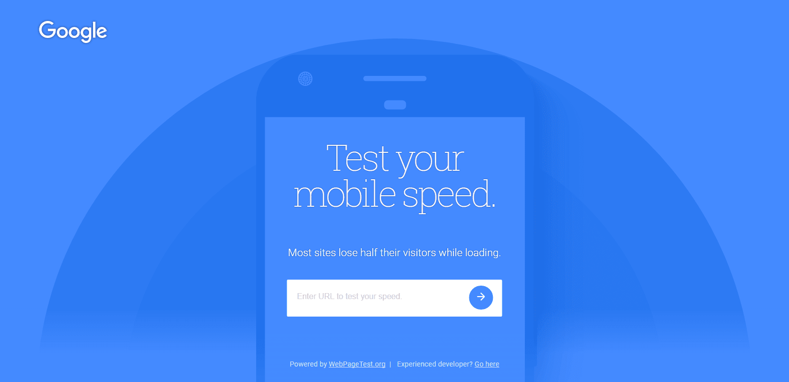 Test Your Blog Mobile Friendliness, Speed Using Google Text My Site