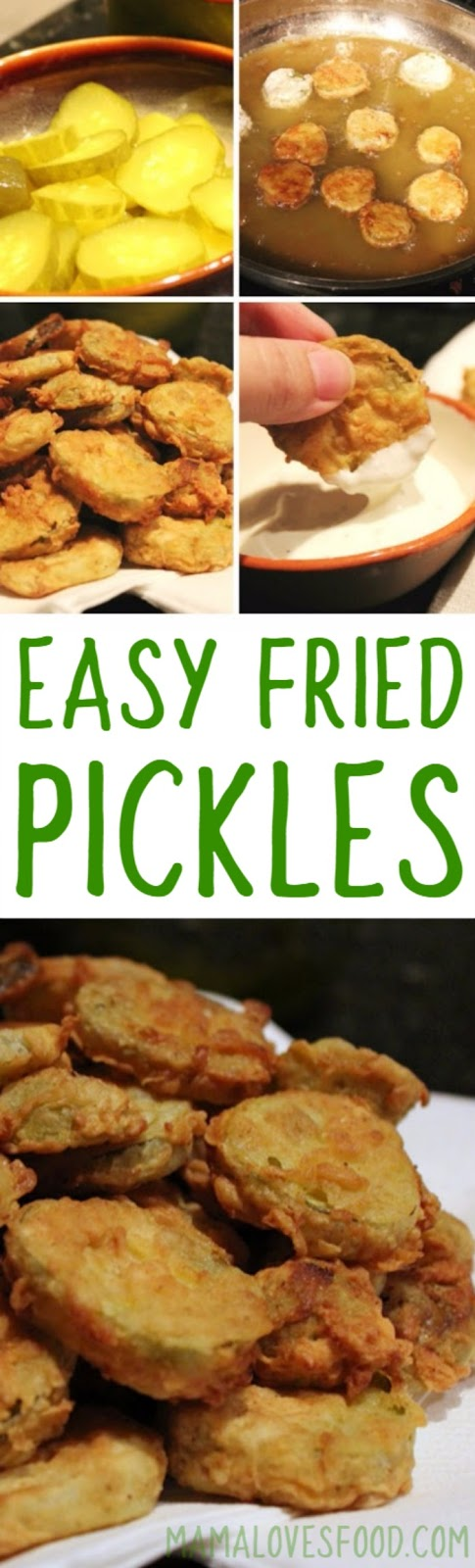 How to Fry Pickles at Home