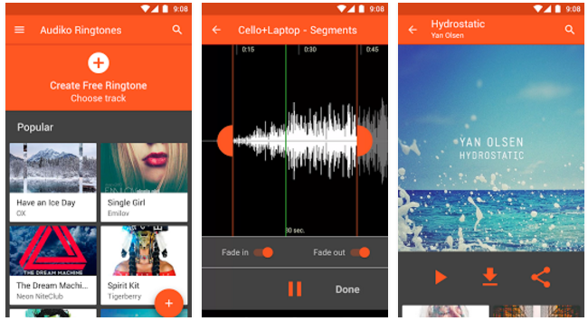 Audiko ringtones for Android PRO v2.9.9 Patched Apk For Android Download