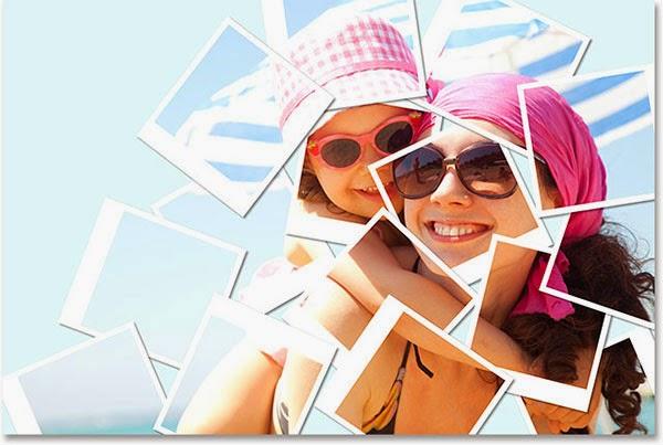 Коллаж из фотографий в Фотошоп