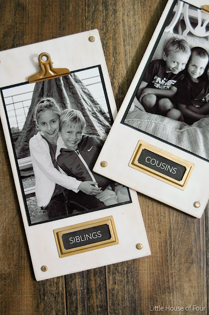 An easy, step by step tutorial for creating custom labels in PicMonkey - Little House of Four.