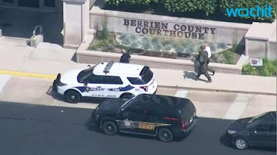 Three dead after courthouse shooting in US