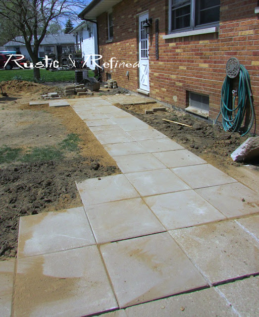 paver sidewalk ideas for the home