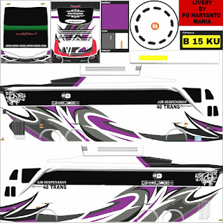 Download Livery Bus 48 Trans