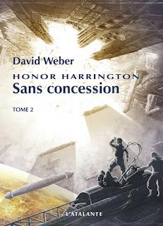 Couverture livre - critique littéraire - Sans consession tome 2 - Honor Harrington