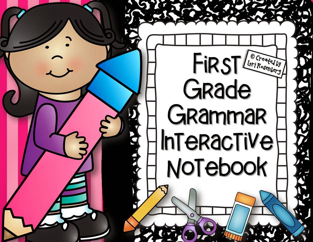 First Grade Interactive Notebooks Teaching With Love And Laughter