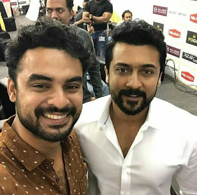 Actor_Surya_And_Tovino_Thomas_Images