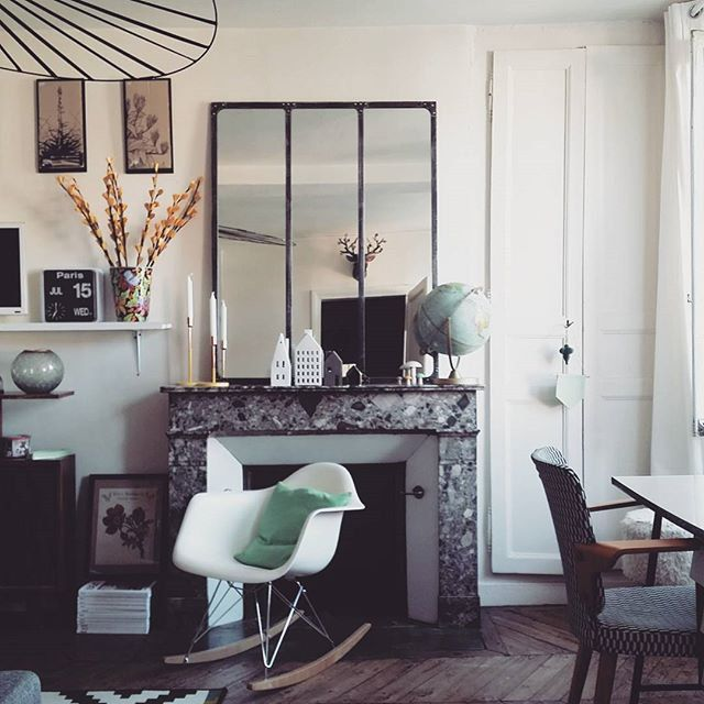 coin chemine deco perfect ides dco pour habiller la chemine le journal de la maison with coin. Black Bedroom Furniture Sets. Home Design Ideas
