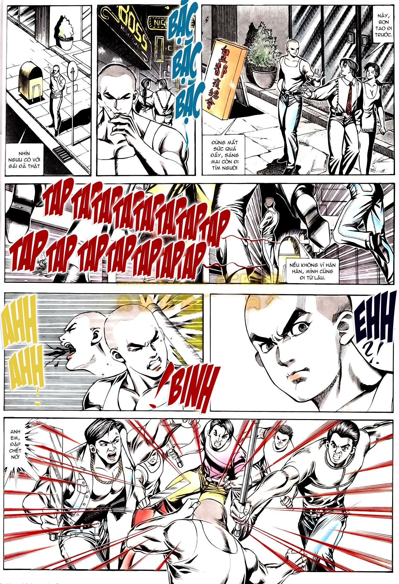 Người Trong Giang Hồ chapter 166: bùng nổ trang 7