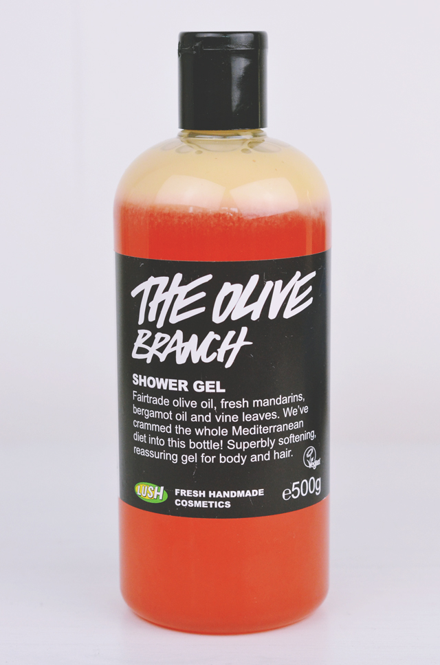 Lush The Olive Branch Shower Gel Review