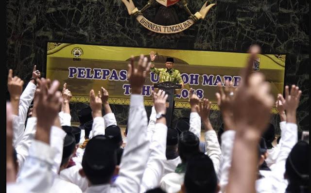 Gubernur Anies Umrahkan 267 Marbut Masjid