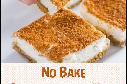 No Bake Snickerdoodle Keto Cheesecake