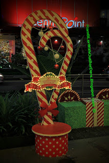 Christmas displays and decorations, Orchard Central, Orchard Road, Singapore