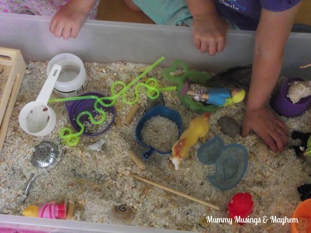 Toddler sensory Fine Motor play