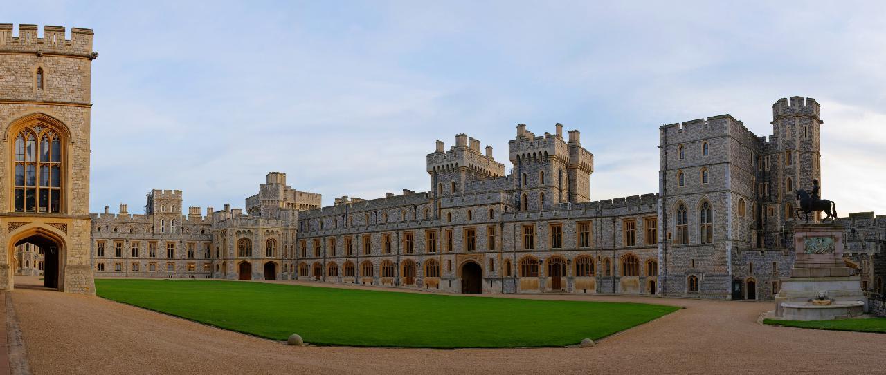 7. Castelo de Windsor (Inglaterra)