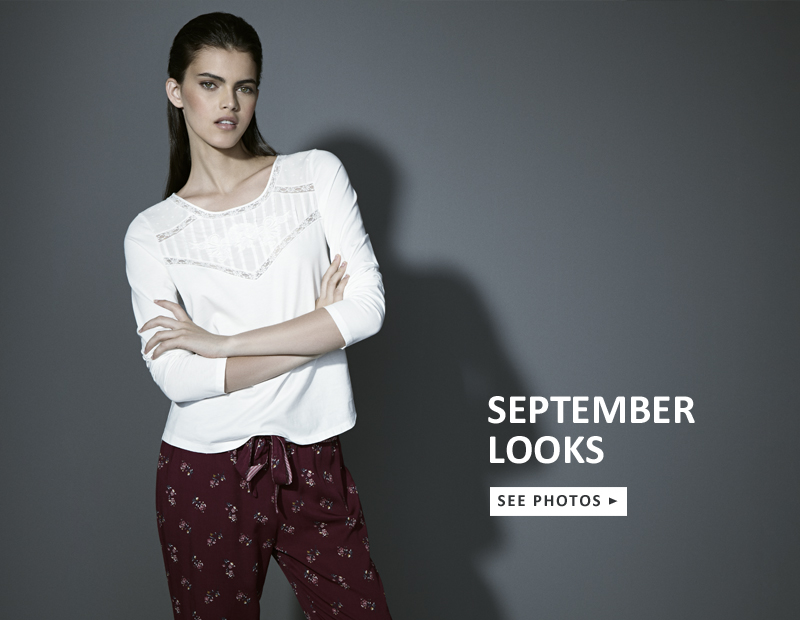 OYSHO  Νέα φθινοπωρινή συλλογή εσωρούχων και homewear bcbd7db49c6