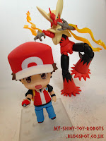 Red and his Blaziken