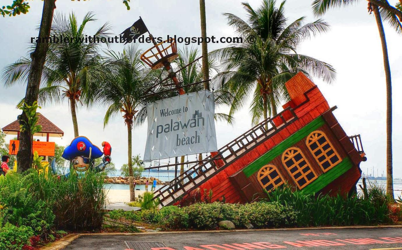 Palawan Beach, Sentosa, Singapore