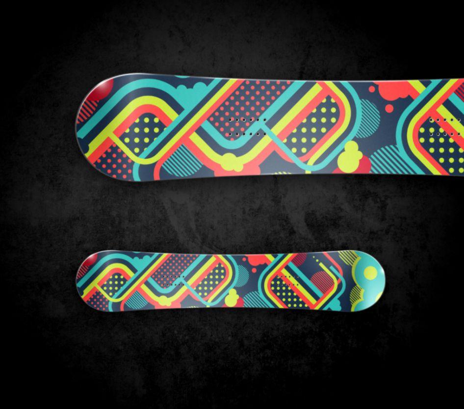 Vector Design Snowboard id 140577 BUZZERG