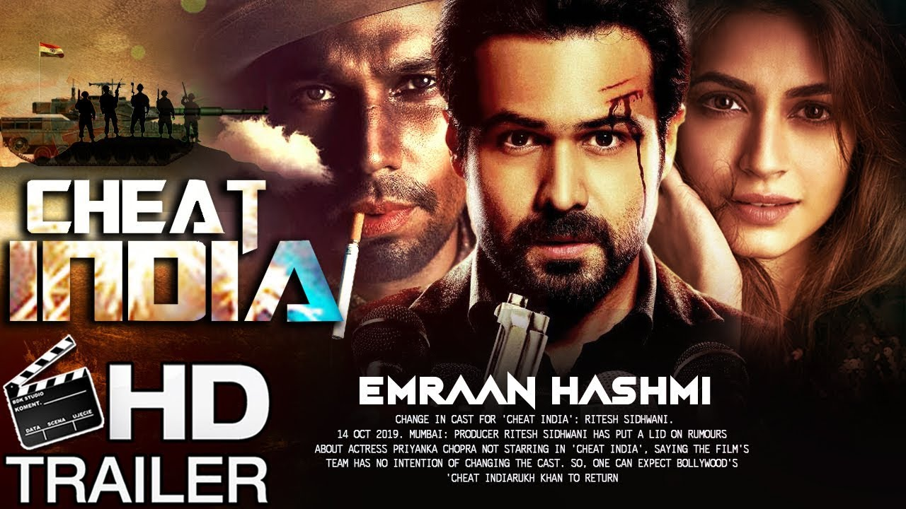 Movie Poster 2019: Cheat India 2019: Movie Full Star Cast & Crew, Wiki, Story