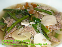 Dinengdeng with Beef Soured with Tamarind