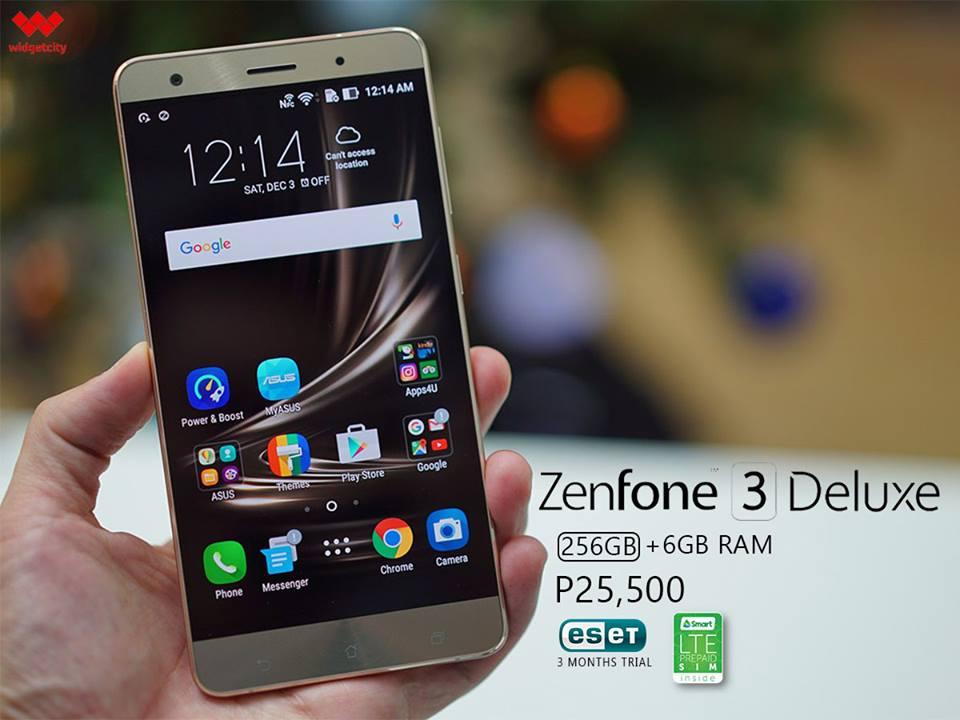 ASUS Zenfone 3 Deluxe 256GB Special Edition
