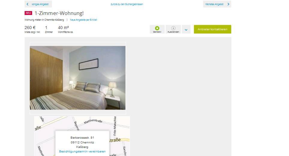 Single Wohnung Wien - resursmind