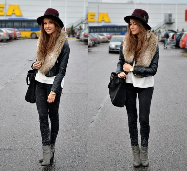 Mode fashion et tendance le style glam rock - Style rock chic femme ...