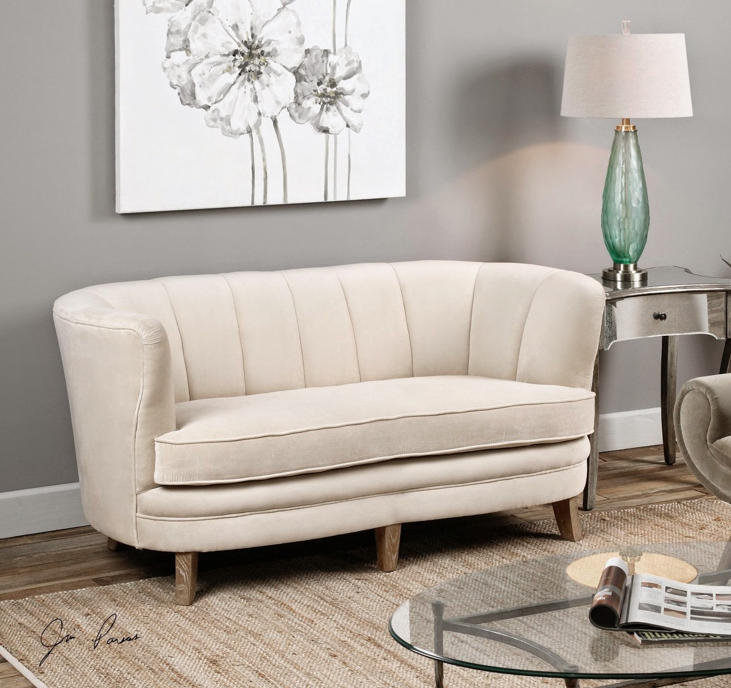 Modern Twine Curved Arm Sofa Sleepers With Storage Sofas Reviews Back