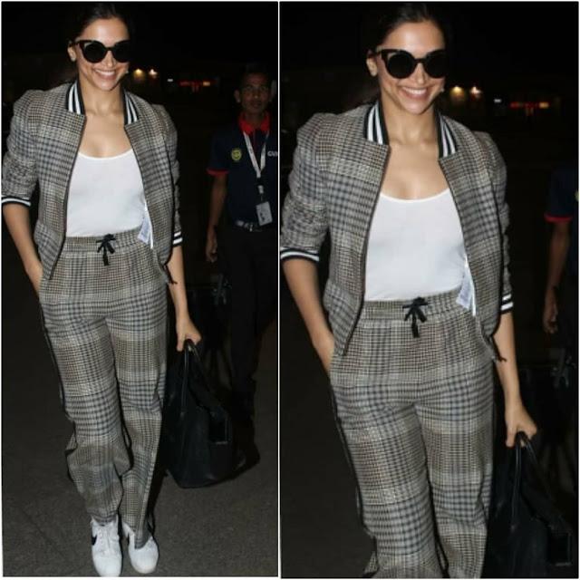Deepika Padukone at the Airport