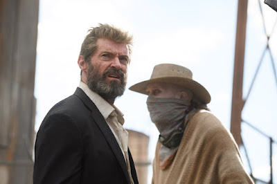 Stephen Merchant and Hugh Jackman in Logan Movie (34)