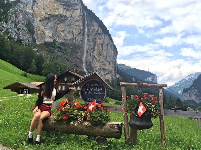 Lauterbrunnen, Switzerland, Miss Happy Feet, Vivian Lee, Interrail