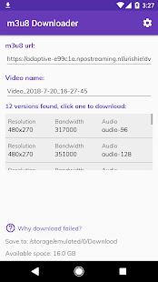m3u8 Downloader v0.9.99 [Mod Ad-Free] APK